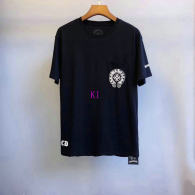 Chrome Hearts short round collar T-shirt M-XXL (45)