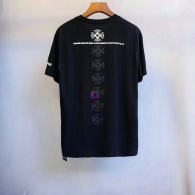 Chrome Hearts short round collar T-shirt M-XXL (46)