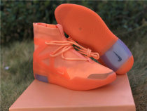 Authentic Nike Air Fear of God 1 Orange