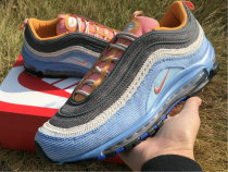 Authentic Nike Air Max 97 Light Blue GS