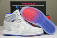 "Authentic Air Jordan 1 High Zoom R2T ""Racer Blue"""
