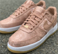 "Authentic Clot x Nike Air Force 1 Low ""Rose Gold"" GS"