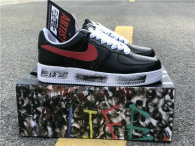 "PEACEMINUSONE x Nike Air Force 1 ""Para-noise"" BLACK/RED"
