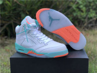 "Authentic Air Jordan 5 ""Light Aqua"""