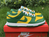 "Authentic Nike Dunk Low SP ""Brazil"" GS"