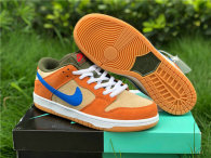 Authentic Nike SB Dunk Low Dusty Peach/Blue