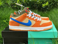 Authentic Nike SB Dunk Low Dusty Peach/Blue GS