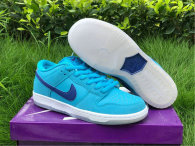 "Authentic Nike SB Dunk Low ""Blue Fury"""