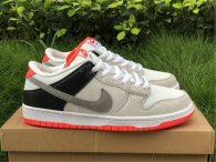 "Authentic Nike SB Dunk Low ""Infrared"""
