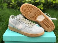 Authentic Nike SB Dunk Low Mica Green/White GS