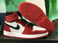 "Authentic Crystal Air Jordan 1 ""Chicago"""