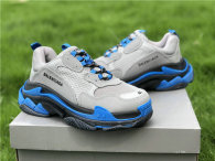 Balenciaga Triple-S Black/Royal/Grey