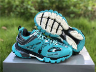 Balenciaga Track Trainers 3.0 NOT WASH EMERALD BLUE