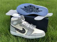 Authentic Dior x Ai Jordan 1 High Top (with dior boxes)