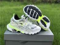 Balenciaga Track Trainers 3.0 White/Fluorescent Yellow