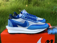 Authentic Sacai x Nike LDV Waffle Blue White (women)