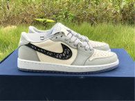 Authentic Dior x Ai Jordan 1 Low (with dior boxes)