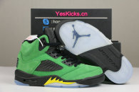 "Authentic Air Jordan 5 SE ""Oregon Ducks"""