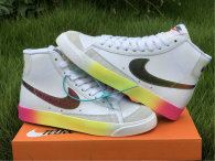 Authentic Nike Blazer Mid '77 Vintage White/Bright Cactus-Hyper Pink