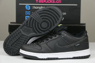 Authentic Civilist x Nike SB Dunk Low Black