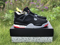 "Authentic Air Jordan 4 ""Bred"" 2018"