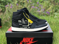 "Authentic Air Jordan 1 High OG ""Nike Air"" black"