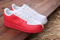 Nike Air Force 1 Low white Bright Crimson