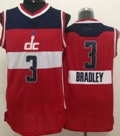 Washington Wizards -3 Bradley Beal Red 2014-15 Christmas Day Stitched NBA Jersey