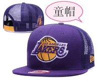 Los Angeles Lakers Kid Snapback Hat (2)