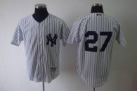 New York Yankees -27 Shawn Kelley White Stitched MLB Jersey