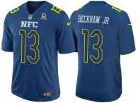 2017 PRO BOWL NFC ODELL BECKHAM JR BLUE GAME JERSEY