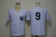 Mitchell And Ness 1961 New York Yankees -9 Roger Maris White Throwback Stitched MLB Jersey