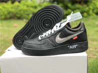 Authentic Off White x Air Force 1 Low Black