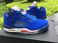 "Super Max Perfect Air Jordan 5 Low ""Knicks"""