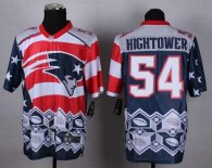 Nike New England Patriots -54 Dont'a Hightower Navy Blue Mens Stitched NFL Elite Noble Fashion Jerse