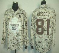 Toronto Maple Leafs -81 Phil Kessel Camouflage Stitched NHL Jersey