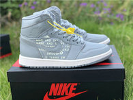 "Authentic Air Jordan 1 High OG ""Nike Air"" Cool Grey"