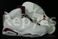 Air Jordan 6 MAROON Super Max Perfect