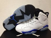Perfect Air Jordan 6 Retro GS Sport Blue