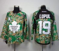 Toronto Maple Leafs -19 Joffrey Lupul Camo Veterans Day Practice Stitched NHL Jersey