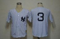 Mitchell And Ness 1932 New York Yankees -3 Babe Ruth White Throwback Stitched MLB Jersey