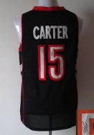 Revolution 30 Autographed Toronto Raptors -15 Vince Carter Black Purple Stitched NBA Jersey