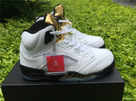 Super Max Perfect Air Jordan 5 GS Olympic