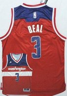 Washington Wizards -3 Bradley Beal New Red Road Stitched NBA Jersey