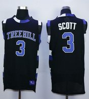 One Tree Hill Ravens -3 Lucas Scott Black Stitched Basketball Jersey