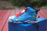 Super Max Perfect Air Jordan 6 Doraemon