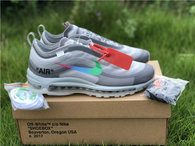 Authentic Off-White x Nike Air Max 97 Grey (women)
