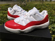 "Super Max Perfect Air Jordan 11 Low ""WhiteRed"""