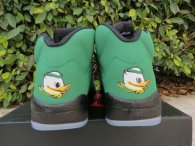 "Perfect Air Jordan 5 ""Oregon Ducks"""