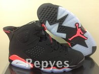 Super Max Perfect Jordan 6 Black lnfrared 2014